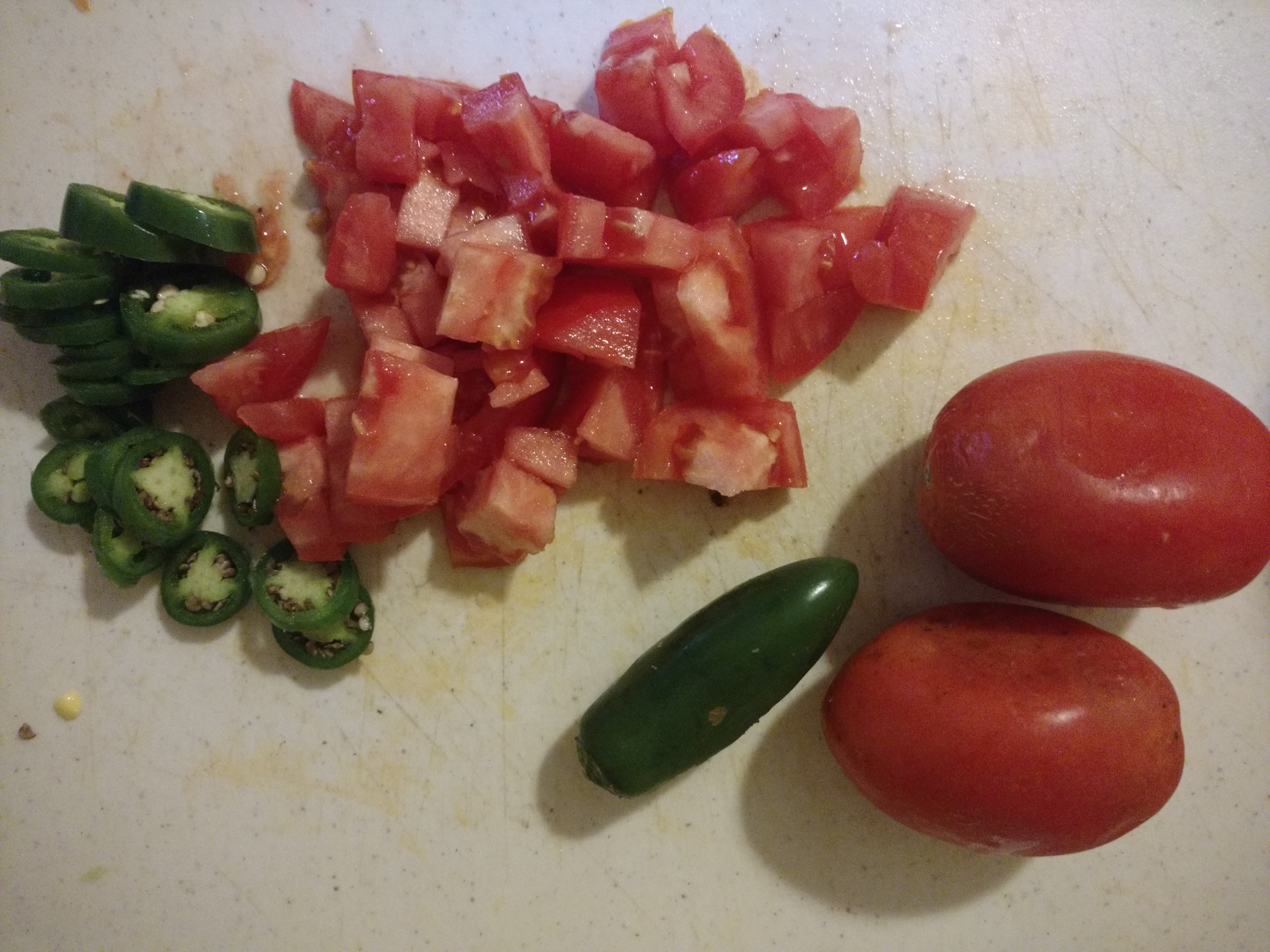 Roma Tomatoes and Jalapenos - Fisher Hill Farm